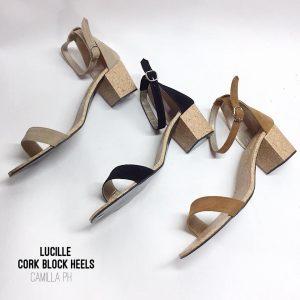Block Heels (Cork) Lucille