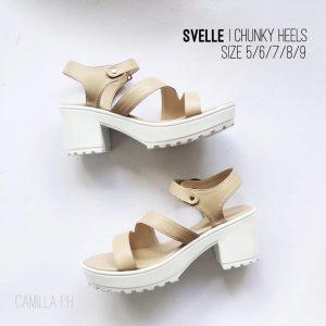 Chunky Heels Svelle