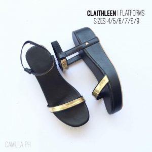 Flatforms Claithleen Black